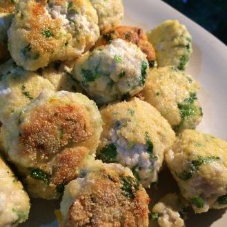 Zesty chicken meatballs